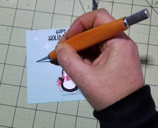 free printable christmas tag