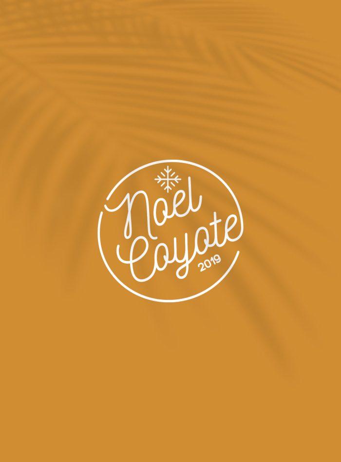 Logo de la soirée de Noël pour Coyote.
