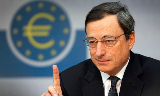 Mario-Draghi-ECB Draghi's last European monetary policy meeting