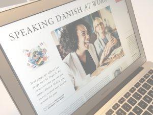 Speaking Danish at work