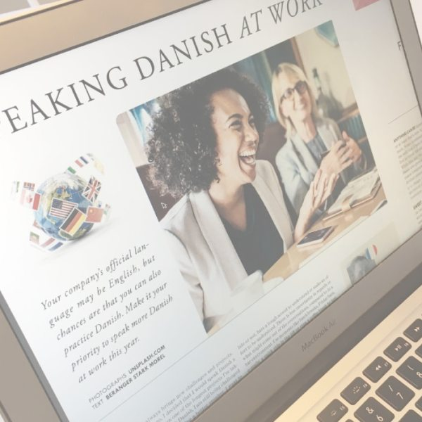 Speaking Danish at work