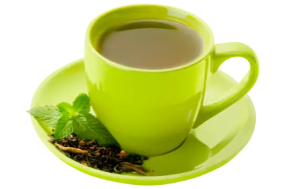 Replace tea and coffee with Green Tea