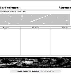 Astronomy Worksheets [ 822 x 1064 Pixel ]