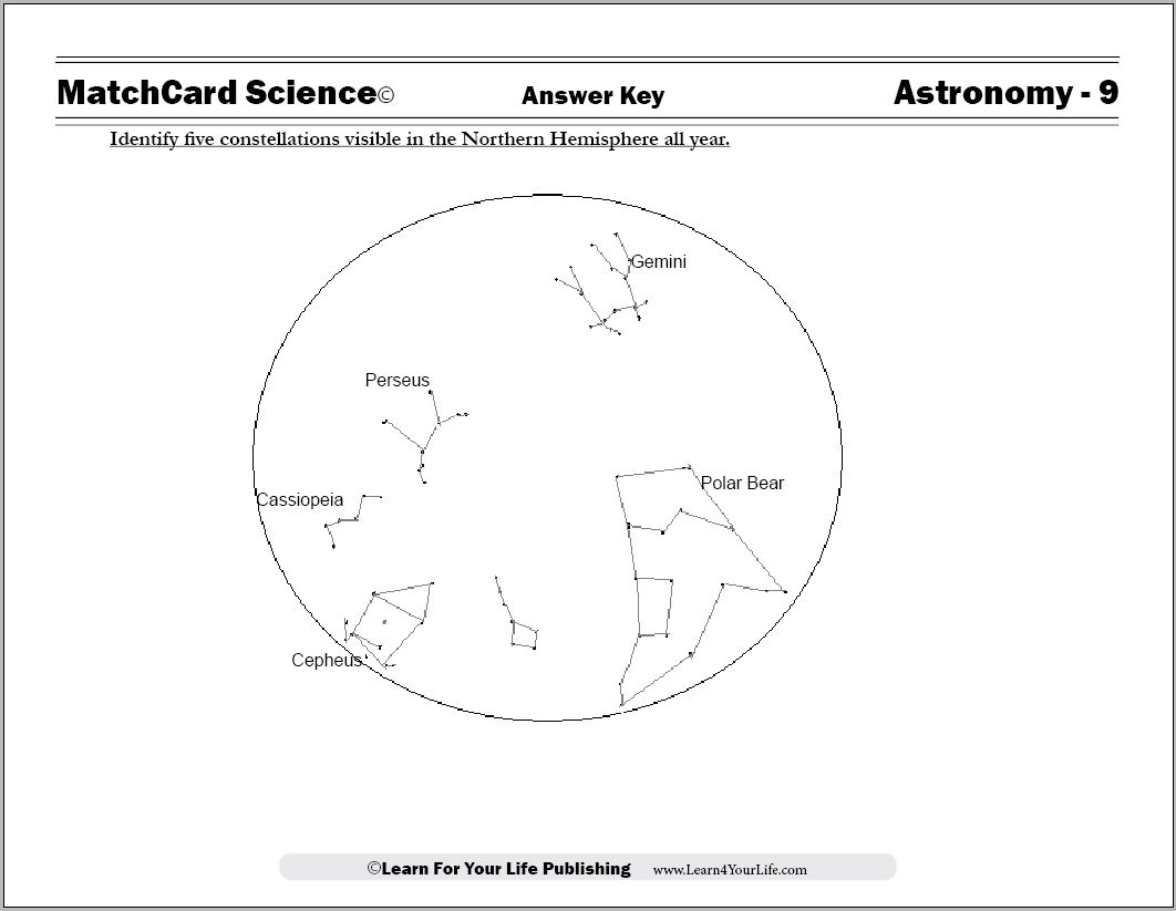 hight resolution of Astronomy Worksheets