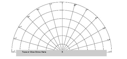 Sky Chart and Sextant