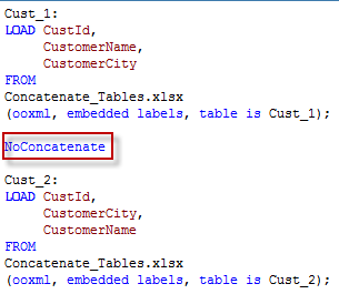 Concatenate and NoConcatenate in QlikView – Part 2     Learn QlikView