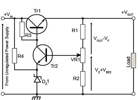 Analysis of TC compensated Voltage Reference / Discrete