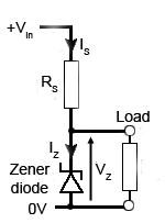 Zener Diode Voltage Regulator Circuits Fixed Voltage