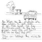 Grade 1 Level 4 Writing Sample