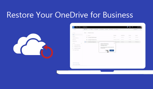 Restoring deleted user's onedrive