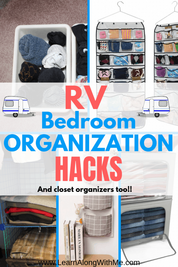 13 Simple Rv Bedroom Organization Ideas So You Ll Actually Be Able To Find Something Learn Along With Me