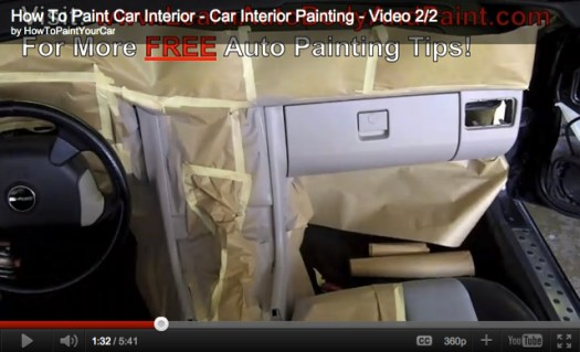 Car interior painting tips and tricks home painting how to paint your car interior painting tips solutioingenieria Gallery