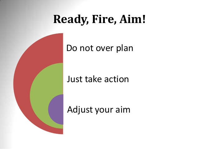 ready fire aim blogging