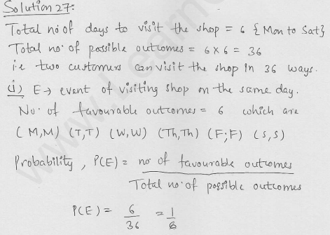 RD-Sharma-Solutions-For-Class-10th-Maths-Chapter-13-Probability-Ex-13.1-Q-27