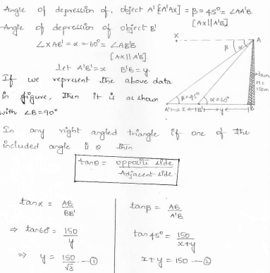 RD-Sharma-class 10-maths-Solutions-chapter 12 - Applications of Trigonometry -Exercise 12.1 -Question-13_1