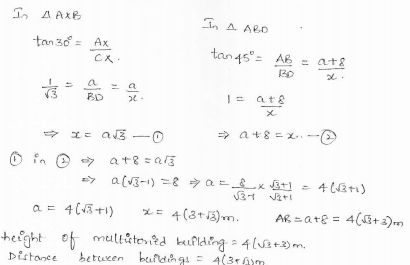 RD-Sharma-class 10-maths-Solutions-chapter 12 - Applications of Trigonometry -Exercise 12.1 -Question-25_1