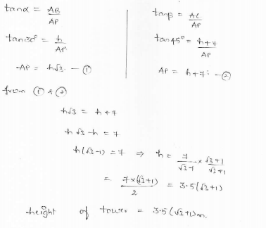 RD-Sharma-class 10-maths-Solutions-chapter 12 - Applications of Trigonometry -Exercise 12.1 -Question-34_1