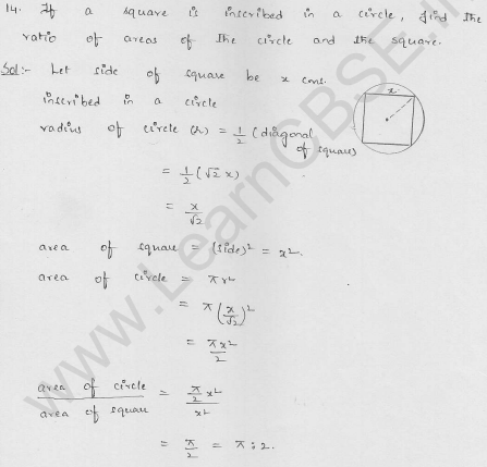 RD-Sharma-class 10-maths-Solutions-chapter 15-Areas related to Circles- Exercise 15.1-Question-14