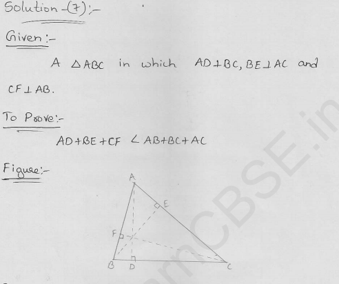 RD-Sharma-class 9-maths-Solutions-chapter 10-Congruence Triangles-Exercise 10.6-Question-7
