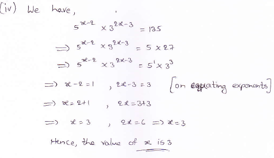 RD Sharma class 9 maths Solutions chapter 2 Exponents of Real Numbers Question 5 (iv)