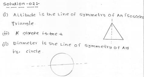 RD Sharma Class 7 Solutions 18.Symmetry EX-18.1 Q 2