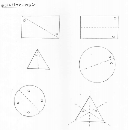 RD Sharma Class 7 Solutions chapter-18 Symmetry Exercise