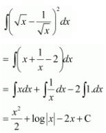 Integrals Class 12 NCERT Solutions Chapter 7 Ex 7.1 Q 10