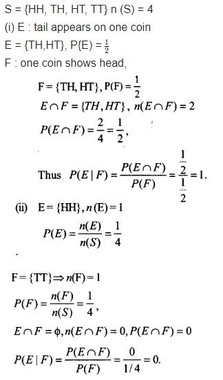 NCERT Solutions Class 12 Maths Chapter 13 Probability Ex 13.1 Q 7