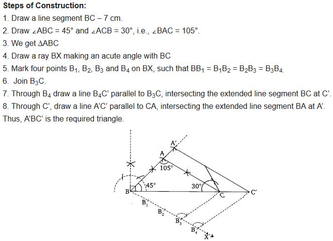 Chapter 11 Maths Class 10 NCERT Solutions Exercise 11.1 PDF Q6