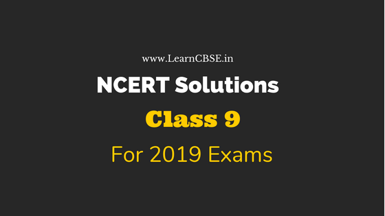 NCERT Solutions for Class 9 Maths, Science, SST, Hindi