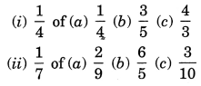 NCERT Solutions for Class 7 Maths Chapter 2 Fractions and Decimals Ex 2.3 1