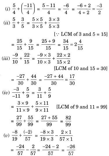 NCERT Solutions for Class 7 Maths Chapter 9 Rational Numbers Ex 9.2 2
