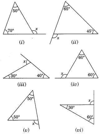 NCERT Solutions for Class 7 Maths Chapter 6 The Triangle