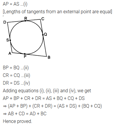 NCERT Solutions for Class 10 Maths Chapter 10 Circles Ex 10 2
