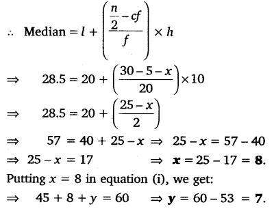 Ex 14.3 Class 10 Maths NCERT Solutions pdf download Q2.1