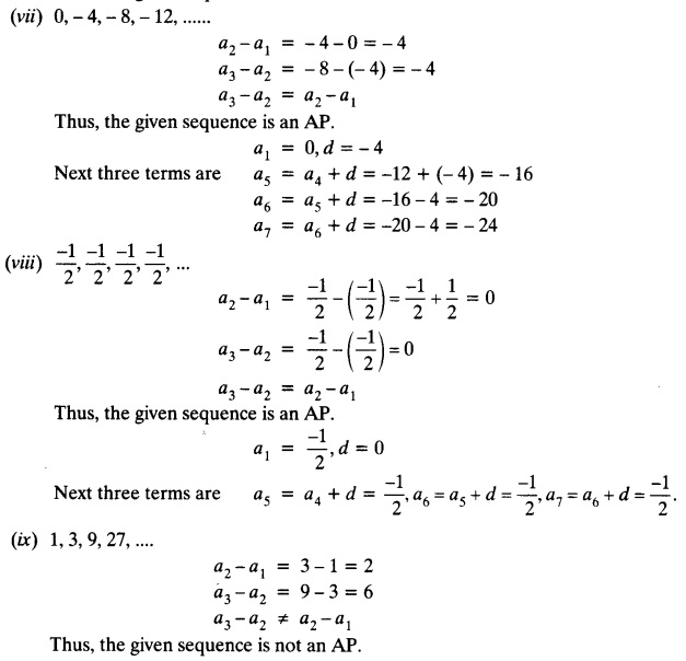 Ex 5.1 Class 10 Maths NCERT Solutions Arithmetic Progression Ex 5.1 Q4.2