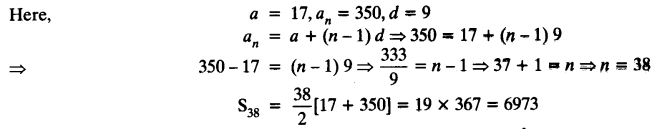 Exercise 5.3 Class 10 Maths NCERT Solutions Arithmetic Progression Q6