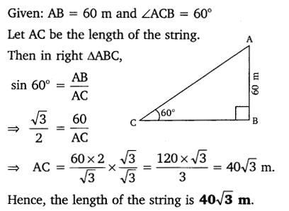 Exercise 9.1 Class 10 Maths NCERT Solutions pdf Q5