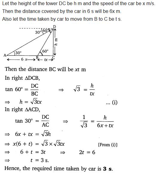 Some Applications Of Trigonometry Class 10 NCERT Solutions Pdf Ex 9.1 Q15
