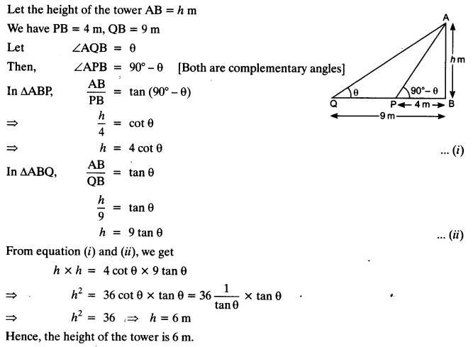 NCERT Solutions for Class 10 Maths Chapter 9 Some