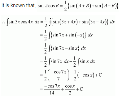 NCERT Solutions for Class 12 Maths Chapter 7 Integers Ex 7 3