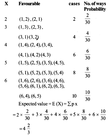 NCERT Solutions for Class 12 Maths Chapter 13 Ex 13.4 Q 12 - i
