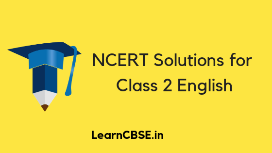 NCERT Solutions for Class 2 English