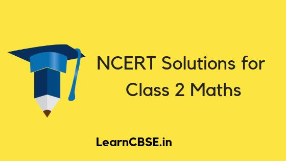 NCERT Solutions for Class 2 Maths
