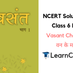 NCERT Solutions for Class 6 Hindi Vasant Chapter 16 वन के मार्ग में