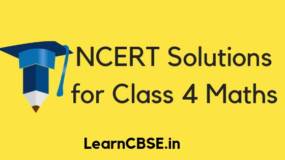 NCERT Solutions for Class 4 Maths Math Magic (Updated for