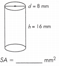total surface area of cylinder formula