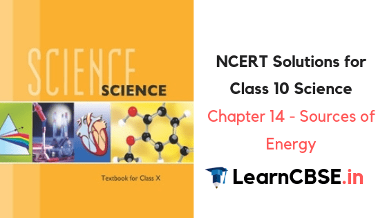 NCERT Solutions for Class 10 Science Chapter 14 Sources of