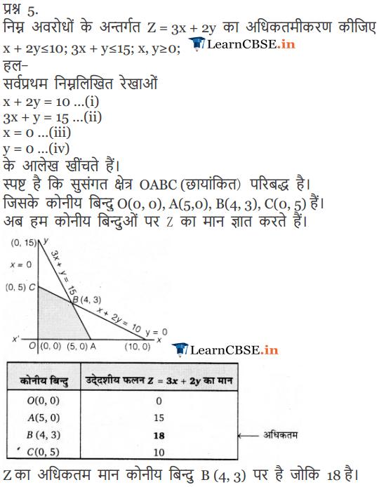 12 Maths Exercise 12.1 in Hindi Medium