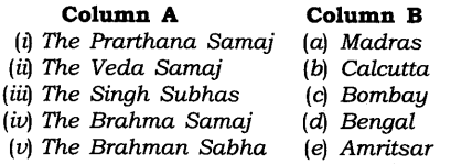 NCERT Solutions for Class 8 Social Science History Chapter